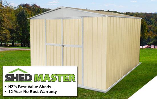 Garden Sheds Nz sheds trade tested