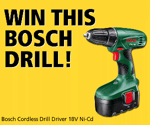 Win a Bosch drill