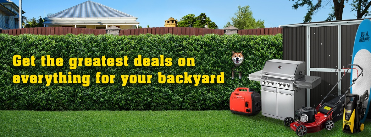 Get everything for your backyard delivered to your front door